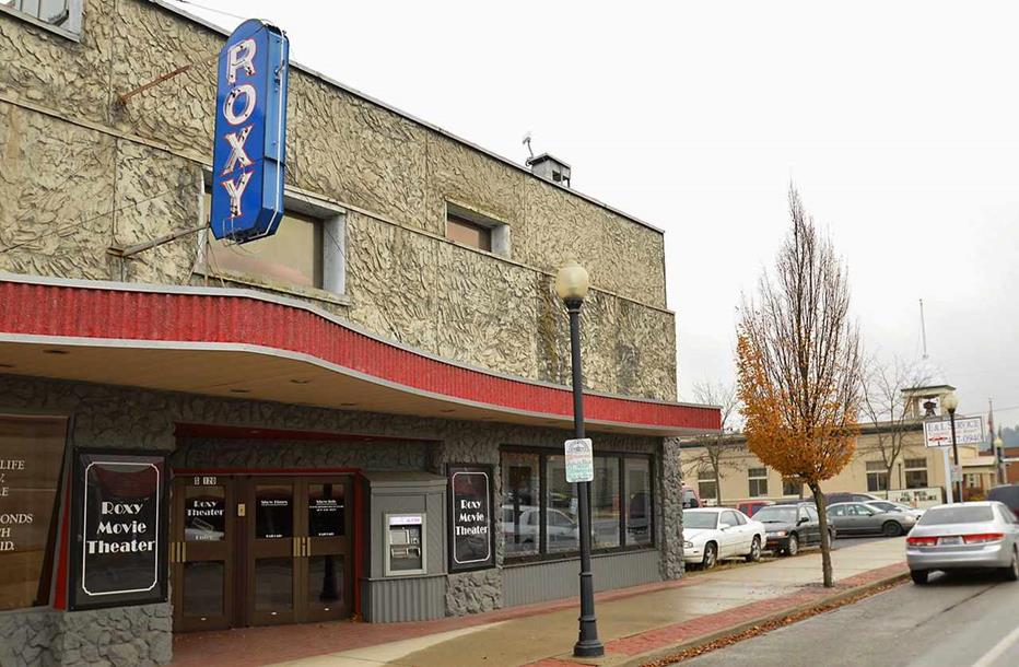 The Newport Roxy Theater, Newport WA, Grand Theater, Movies, Cinema